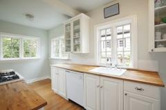 """Bright, cozy kitchen."""